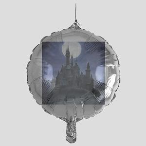 gothic castle reworked Mylar Balloon