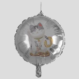 Lucky Cat Mylar Balloon