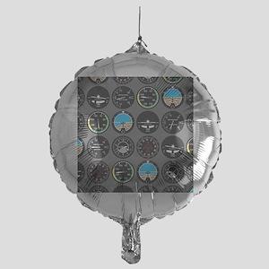 Flight Instruments Mylar Balloon