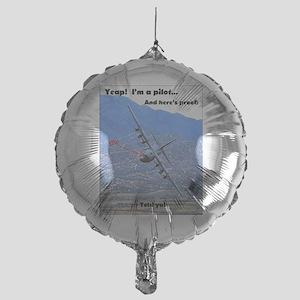 C-130 LOW LEVEL Balloon