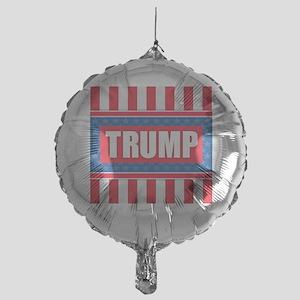 Trump - American Flag Mylar Balloon