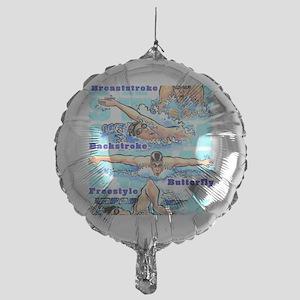 ASwimBoys Mylar Balloon
