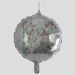 WitchBroom Mylar Balloon