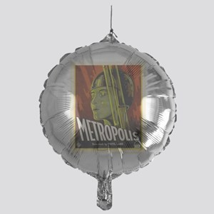 metropolis Mylar Balloon