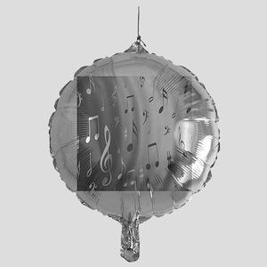 music notes Mylar Balloon