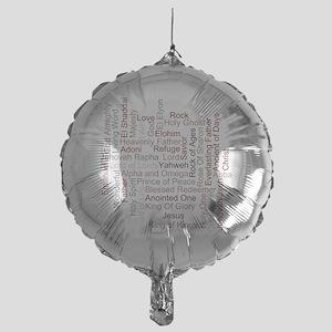 Name Of God Mylar Balloon