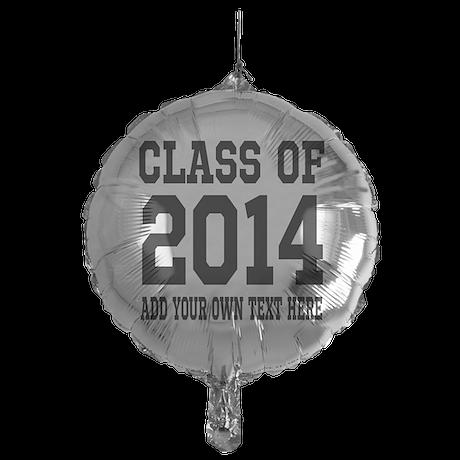 Class Of 2014 High School Graduation Mylar Balloon