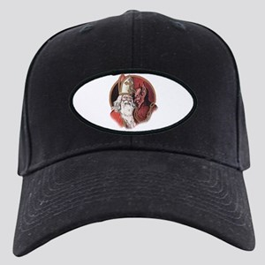 Krampus and Santa Christmas Baseball Hat