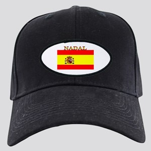 Nadal Spain Spanish Flag Black Cap