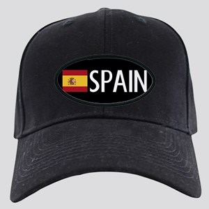 Spain: Spanish Flag & Spain Black Cap