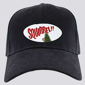 National Lampoon SQUIRREL!! Black Cap with Patch