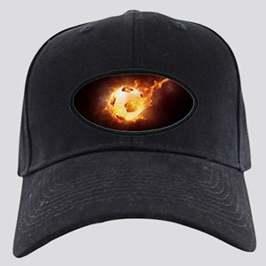 Fire Ball Baseball Hat
