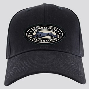 Doberman Brand Black Cap