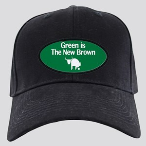 Green is The New Brown Black Cap