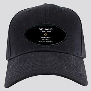 Donald Trump for President USA Black Cap