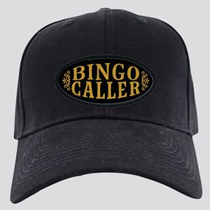 Bingo Caller Black Cap with Patch