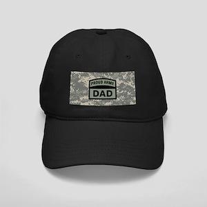 f17a6d5065172 Proud Army Dad Camo Black Cap