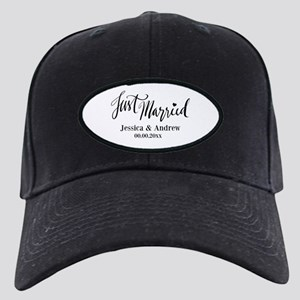 Just Married custom wedding Baseball Hat
