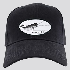 I Believe - Unicorn of the Sea Black Cap