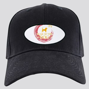 Chinese New Year Celebration Black Cap with Patch