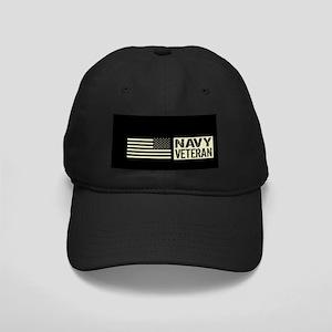 U.S. Navy: Veteran (Black Flag) Baseball Hat
