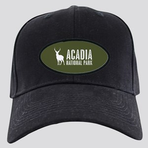 Deer: Acadia National Park, M Black Cap with Patch