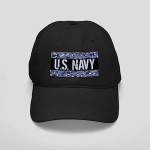 U.S. Navy: Camouflage (NWU I Colors) Black Cap