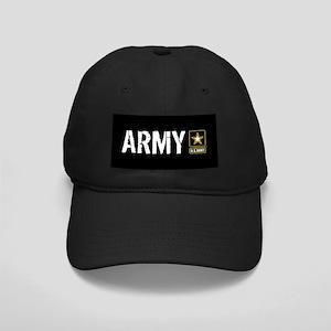 U.S. Army: Army (Black) Black Cap