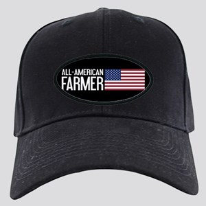 Farmer: All-American (Black) Black Cap