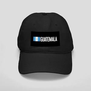 Guatemalan Flag & Guatemala Black Cap