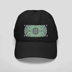 Metallic Celtic Knot Black Cap
