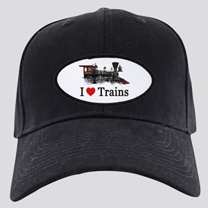 I LOVE TRAINS Black Cap