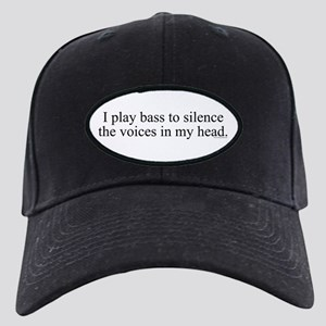 I play bass to silence the vo Black Cap