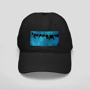 Clothesline silhouette Baseball Hat