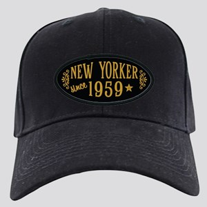 New Yorker Since 1959 Black Cap with Patch