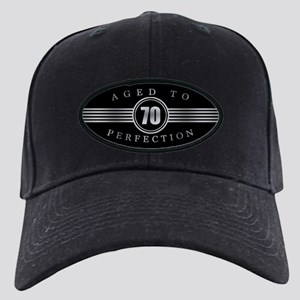 70th Aged To Perfection Black Cap