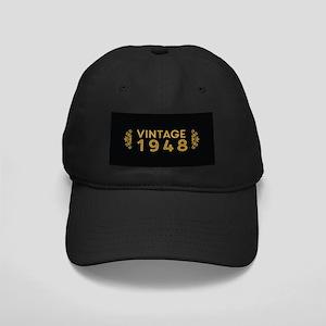 Vintage 1948 Black Cap