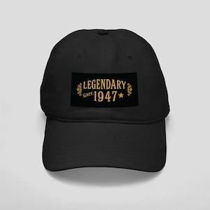 Legendary Since 1947 Black Cap