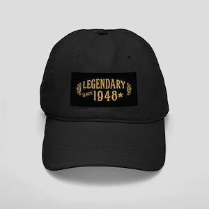 Legendary Since 1948 Black Cap