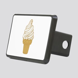Soft Serve Ice Cream Cone Rectangular Hitch Cover