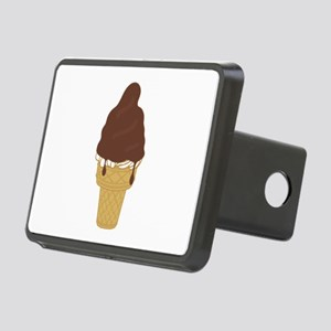 Chocolate Dip Ice Cream Co Rectangular Hitch Cover