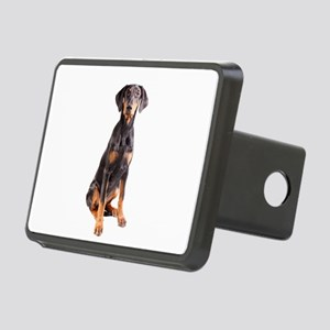 doberman pinscher Rectangular Hitch Cover