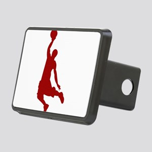 Basketball player Slam Dunk Silhouette Hitch Cover