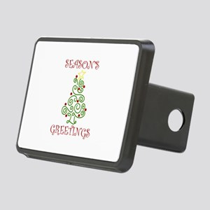 Seasons Greetings Hitch Cover