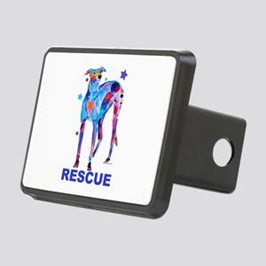 GreyhoundRescue Rectangular Hitch Cover