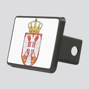 Serbia Lesser Coat Of Arms Rectangular Hitch Cover