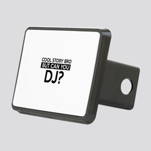 DJ job gifts Rectangular Hitch Cover