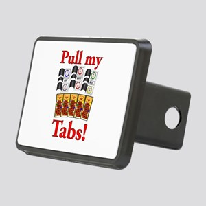 Pull my Tabs! Rectangular Hitch Cover