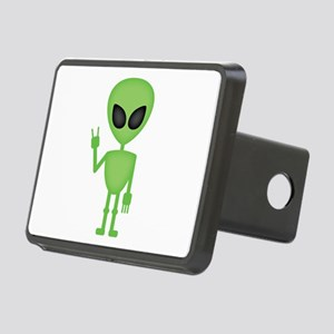 Aliens Rock Rectangular Hitch Cover