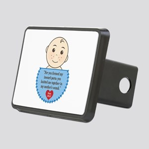 Pro-Life Psalm 139:13 Rectangular Hitch Cover